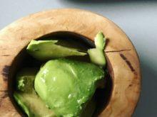 Guacamole pasta z awokado