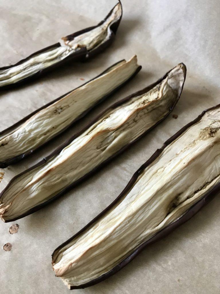 pasta z pieczonego baklazana