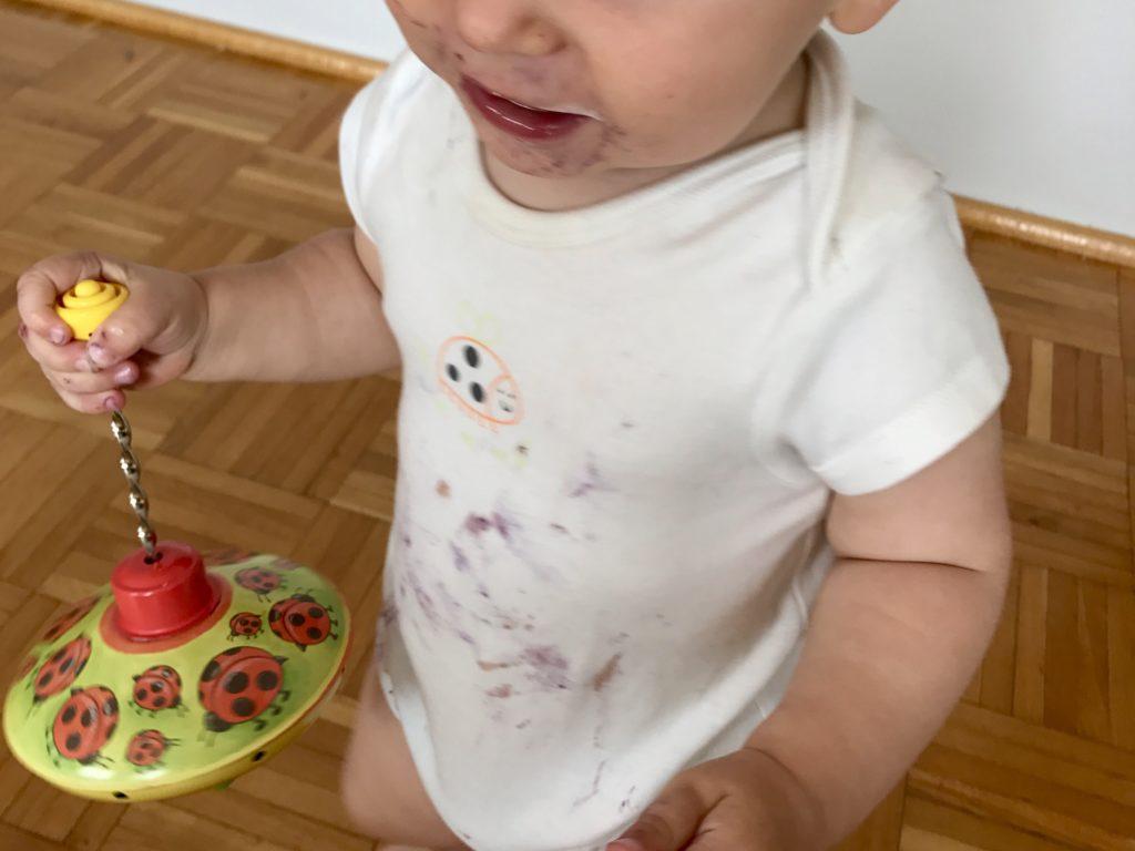placuszki z jagodami