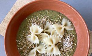 zupa cukiniowo kukurydziana