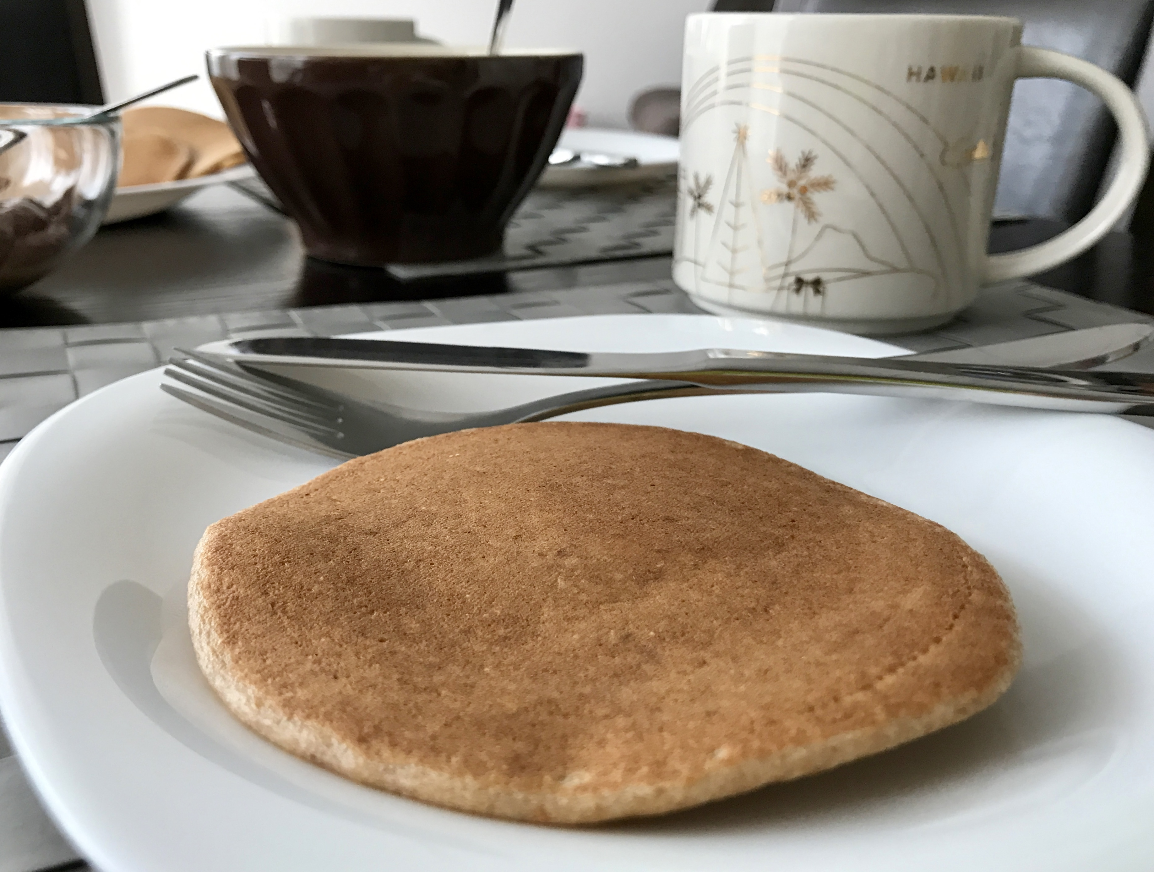 Pancakes z mąki orkiszowej