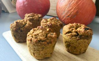 Muffinki dyniowe z mąki orkiszowej