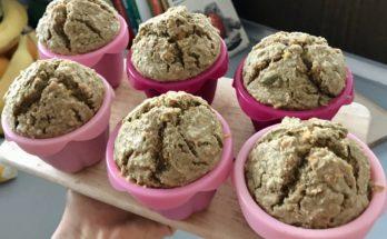 muffinki marchewkowe bez pszenicy