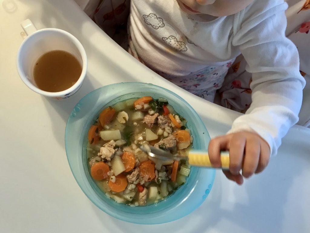 zupa jarzynowa na przeziębienie