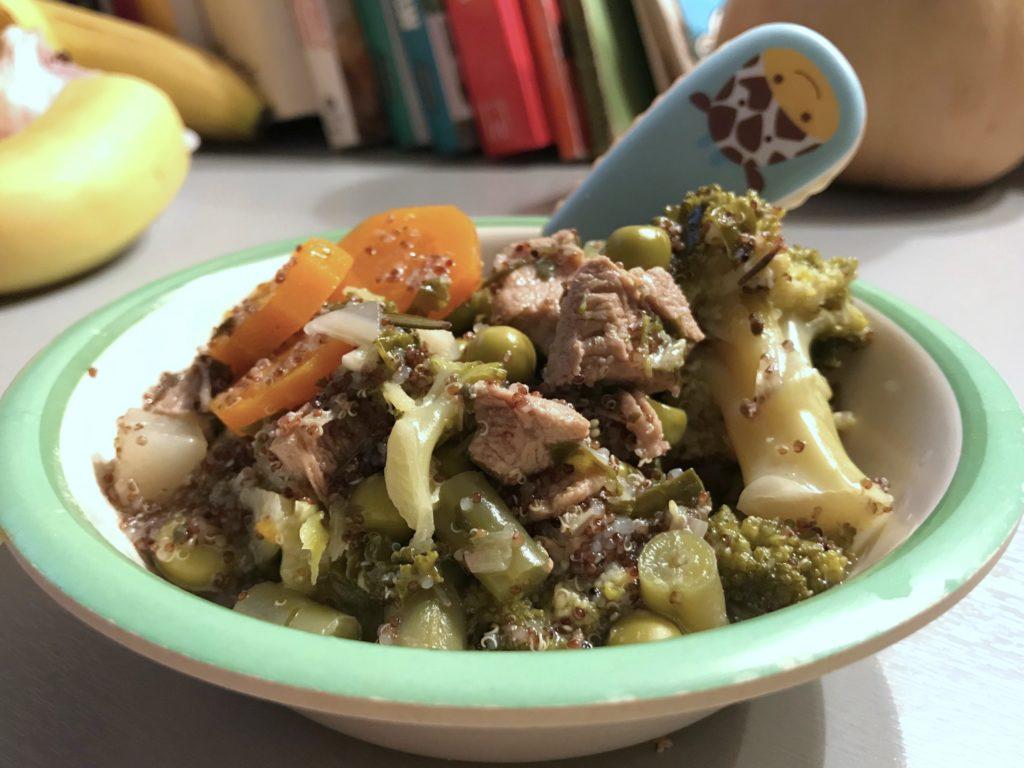 zupa z zielonych warzyw
