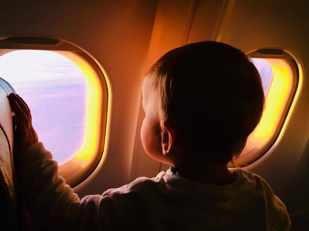 BLW w samolocie