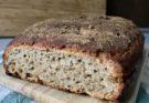 chleb żytni na orkiszowym zakwasie