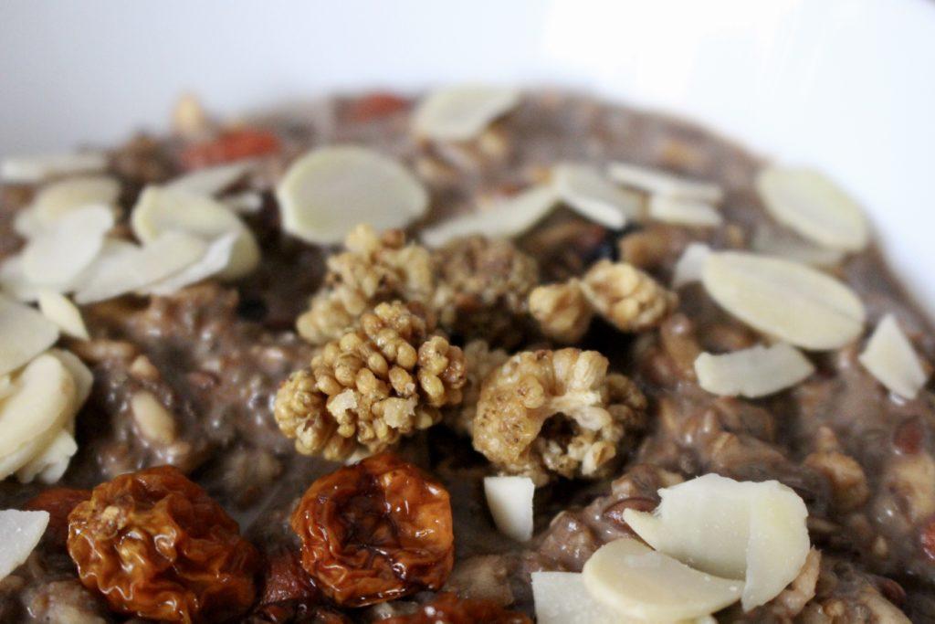 Karobowa owsianka superfoods