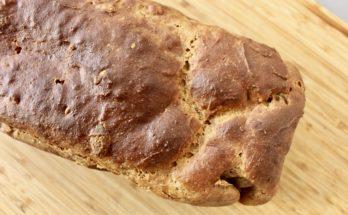 Chleb bananowo-orzechowy