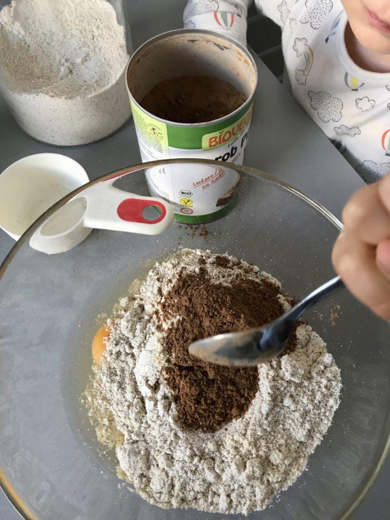 Czekoladowy naleśnik z piekarnika