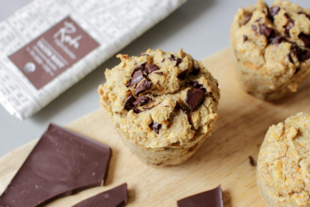 muffinki marchewkowe bez glutenu