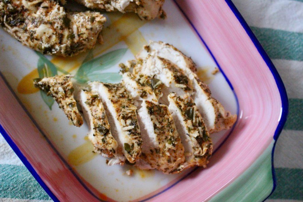Filet z kurczaka pieczony w aromatycznych ziołach