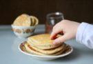 Owsiane pancakes na kefirze blw