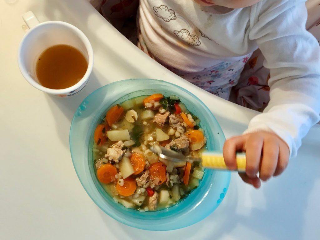 Moje dziecko nie chce jeść zupy