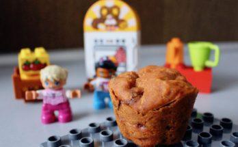 Muffinki pomidorowe z rodzynkami Bez glutenu, mleka i jajek BLW