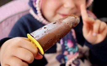 Lody czekoladowe z ciecierzycy. BLW.