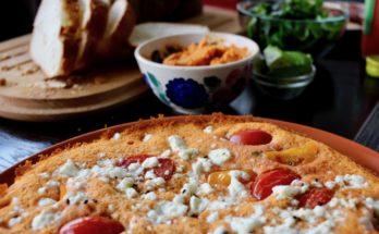 Omlet podwójnie pomidorowy z serem blw
