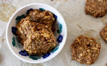 Ciasteczka owsiano-amarantusowe z dynią i jabłkiem BLW