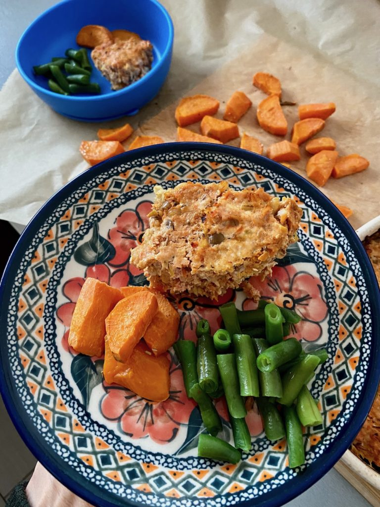 Zapiekanka z mięsa mielonego i kaszy BLW
