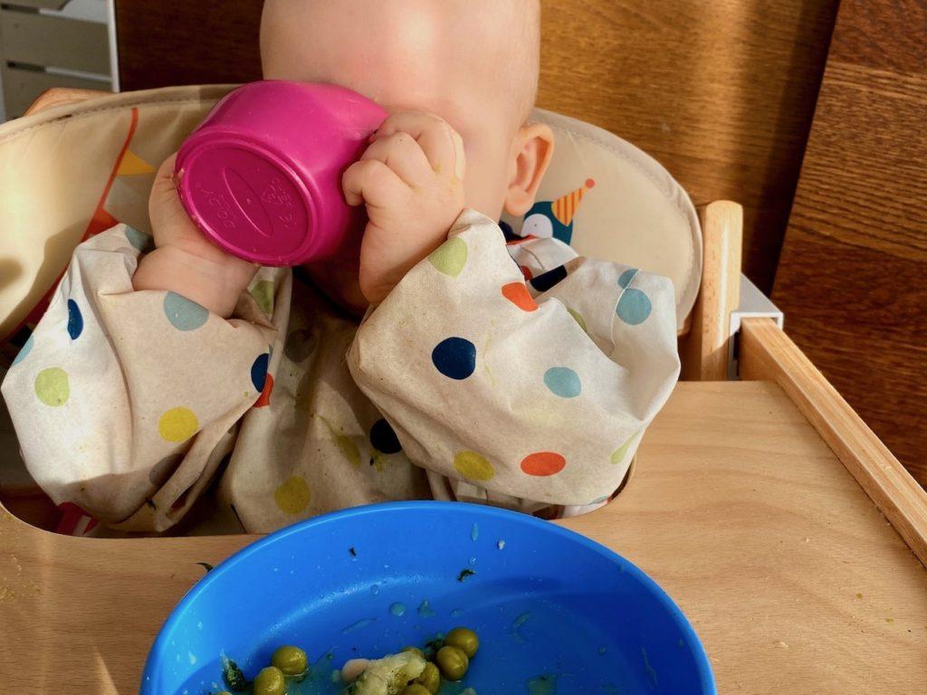 jak podać zupę przy blw