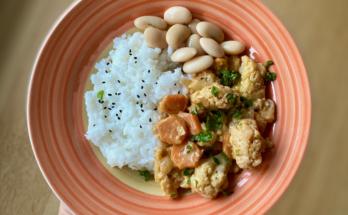 curry z kalafiorem i fasolą