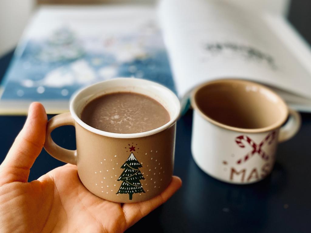 zimowe kakao dla dzieci
