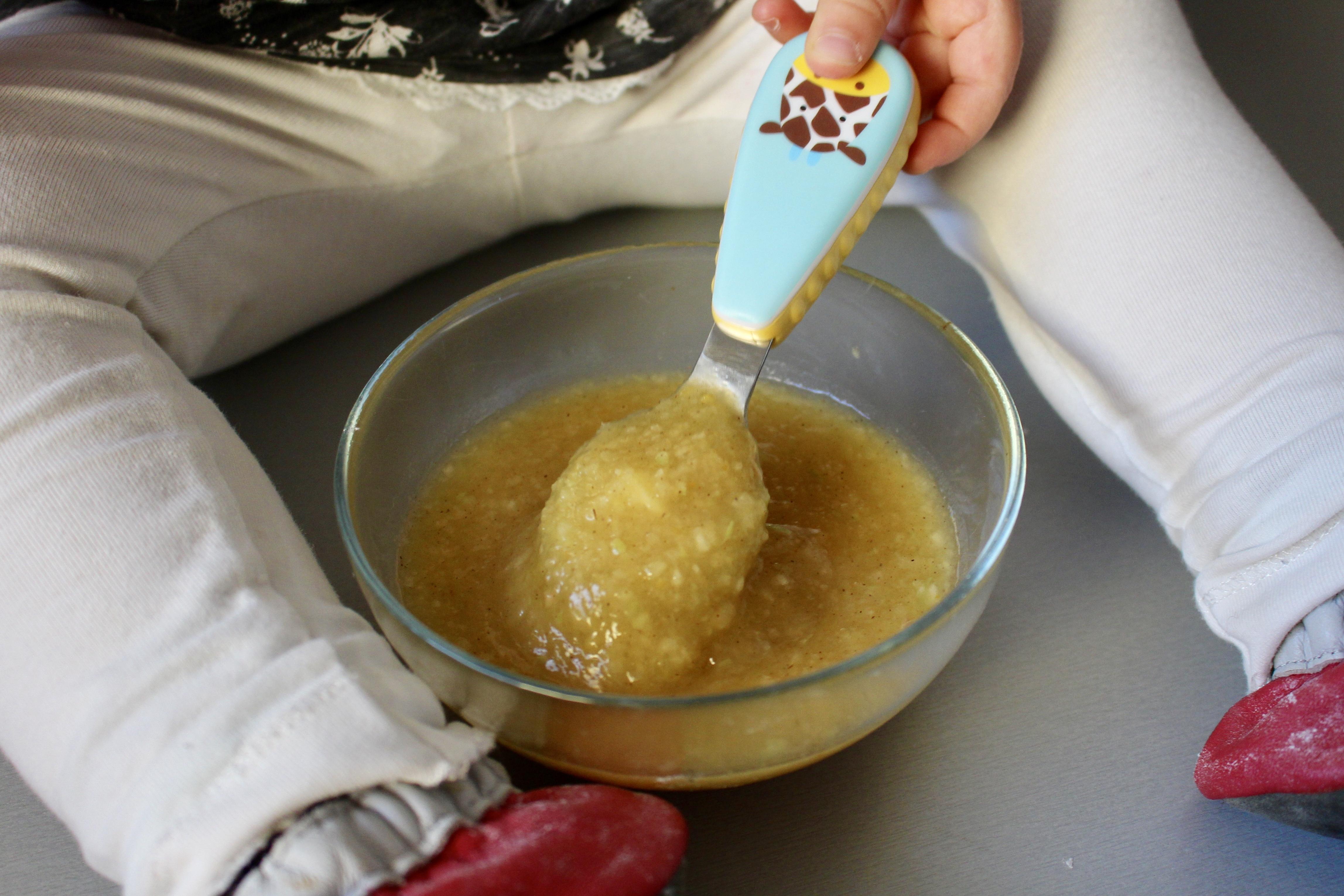 Kisiel dyniowo-jabłkowy