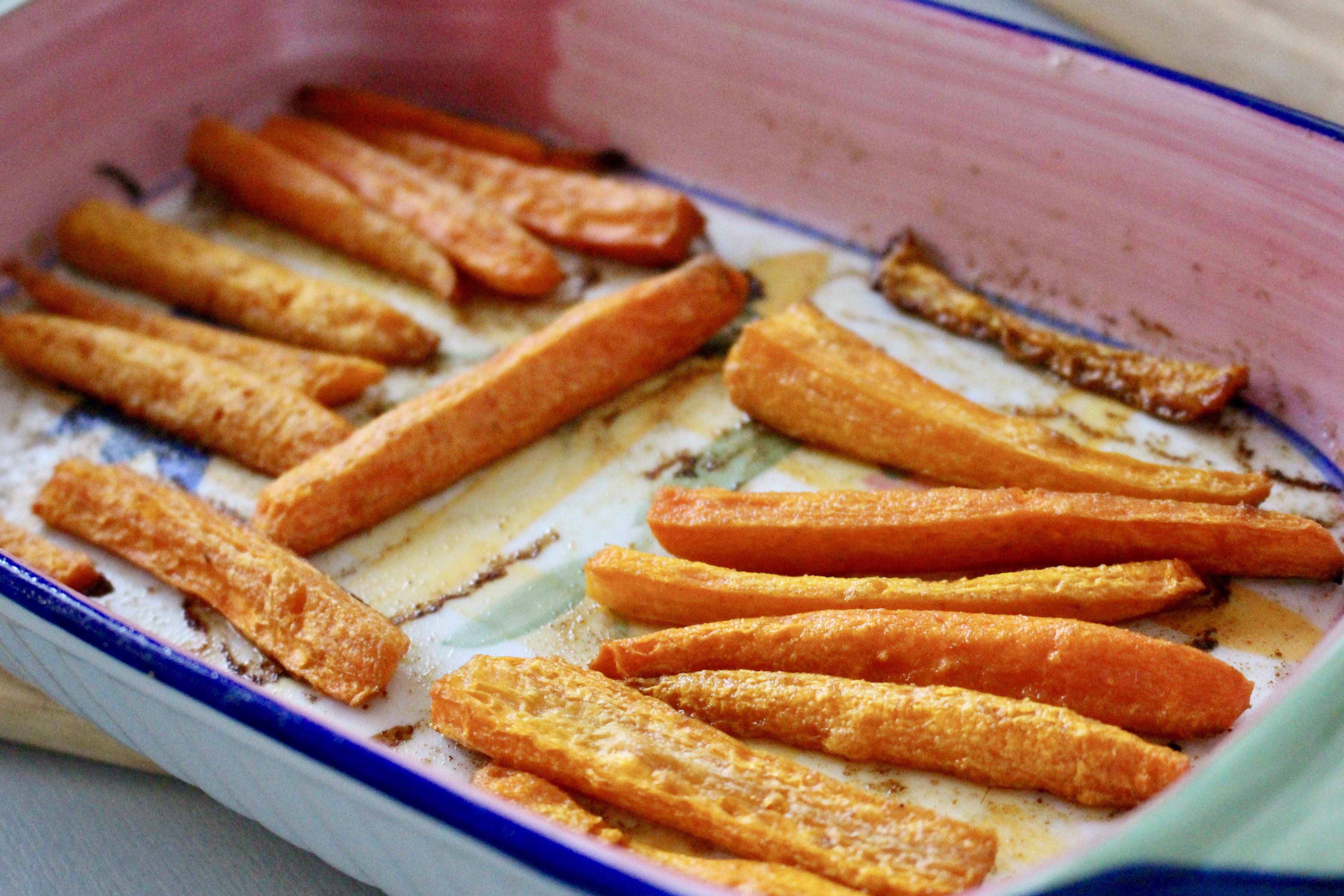 Marchewki pieczone z nutą kuminu rzymskiego