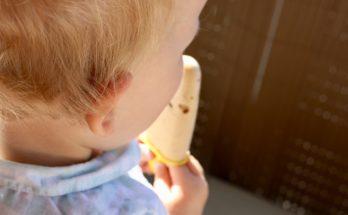 Domowe lody orzechowe dla dzieci