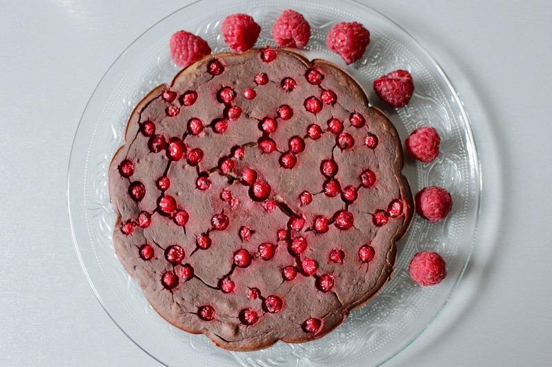 Ciasto z czerwonej fasoli. Bez mąki. BLW.