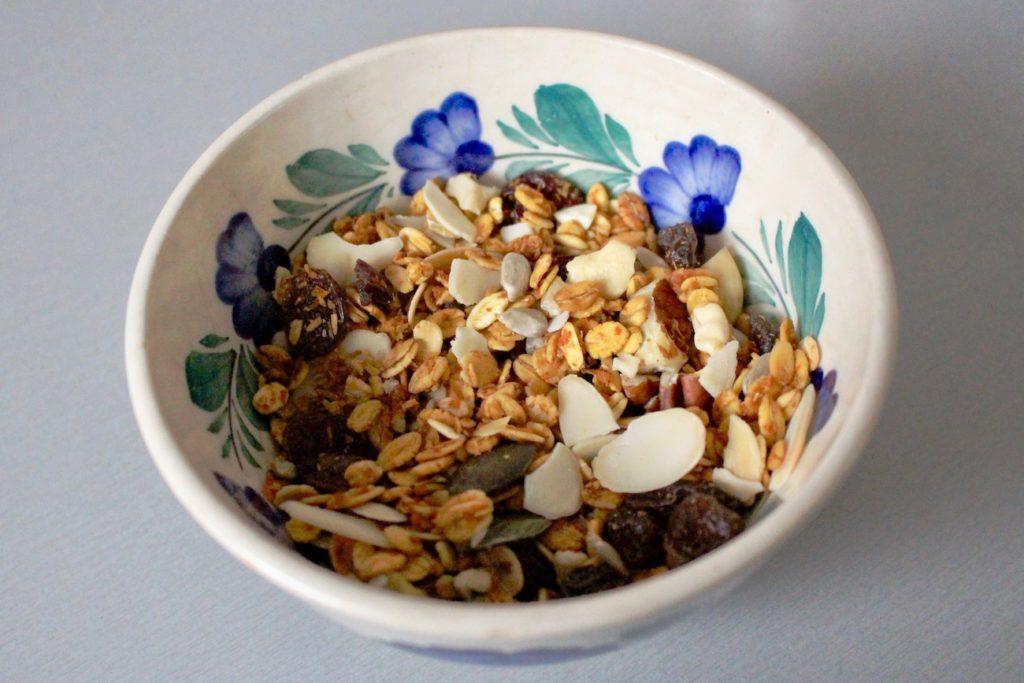 Marchewkowa granola. BLW.