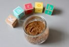 Słodka pasta karobowa z fasolki mung BLW