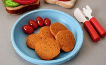 placuszki pomidorowe z natką pietruszki