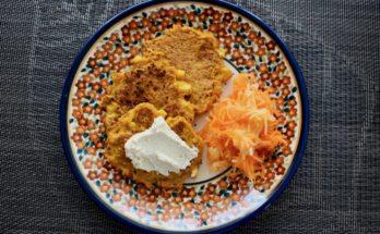 Placuszki z dyni, batata i kukurydzy BLW