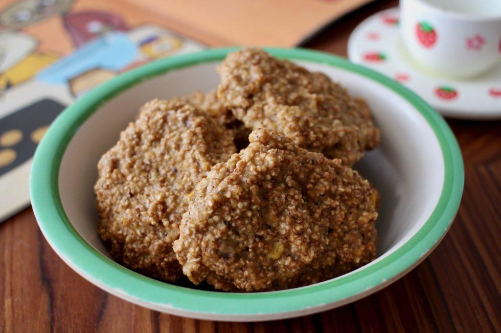 amaranty ski dyniowe z masłem orzechowym blw