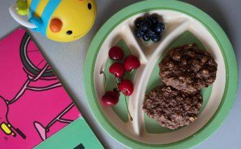 Ciastka owsiane sezamowo czekoladowe