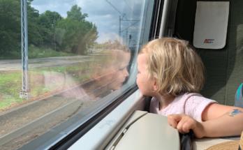 podróż pendolino z dziećmi