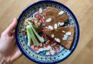 omlet czekoladowy z pomidorami